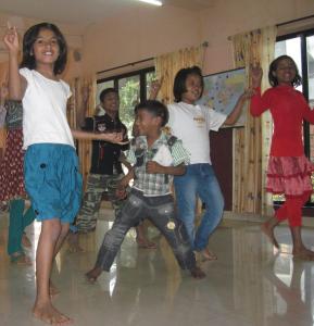 Kids Dancing at Jubilee Home IV