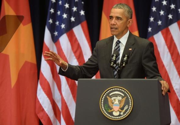 president-barack-obama in Hanoi