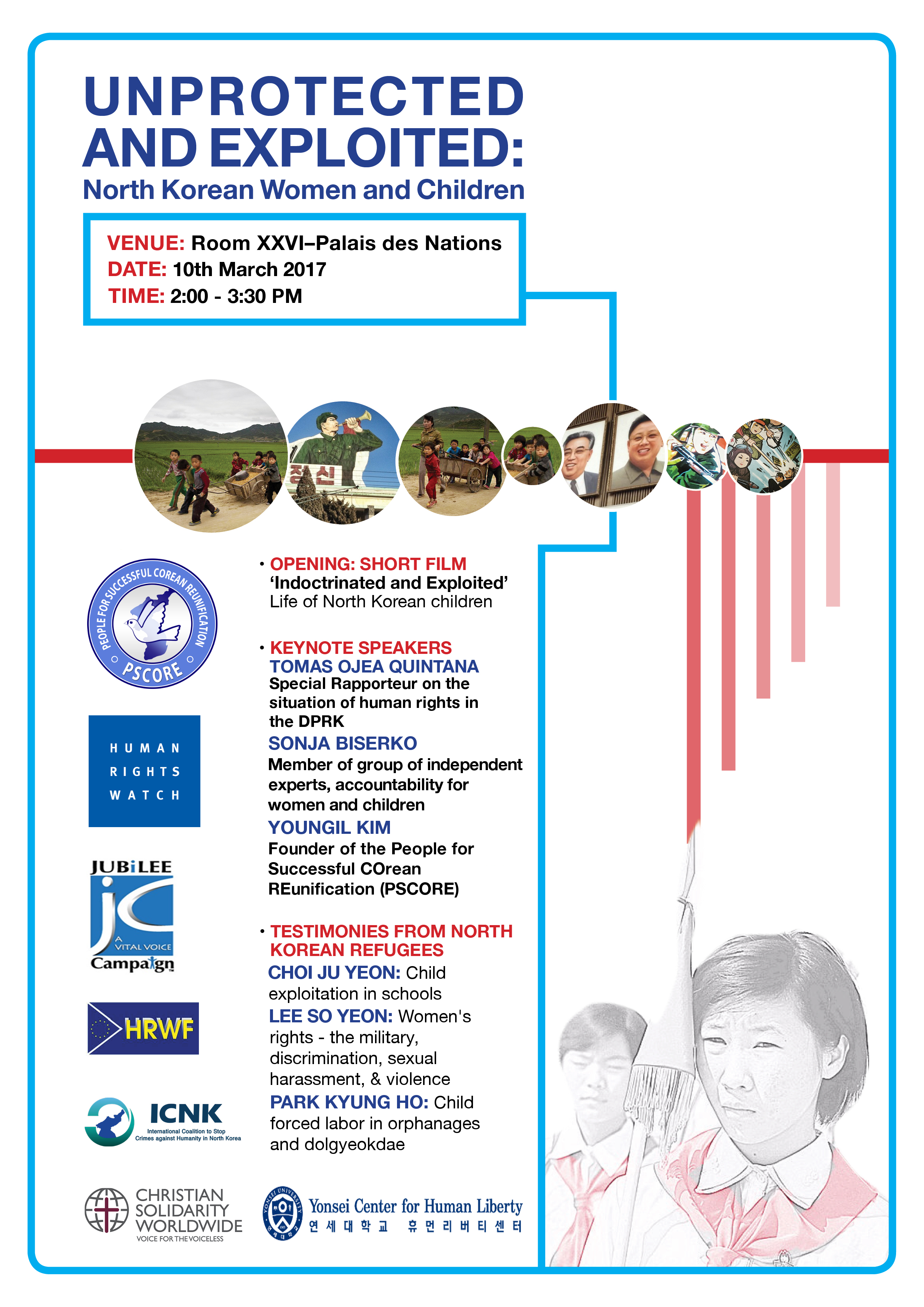 2017 ICNK Side Event poster